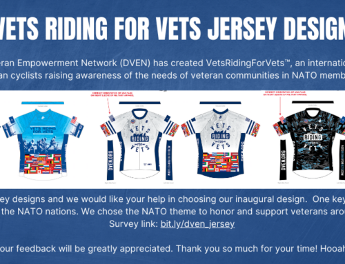 VetsRidingForVets™ Choose Your Favorite Cycling Jersey Design